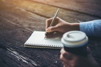 Image result for picture of writer writing